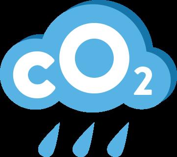 CO2 cloud graphic