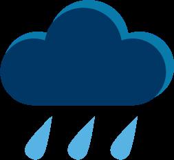 cloud and rain graphic