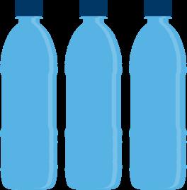 water bottles Graphic